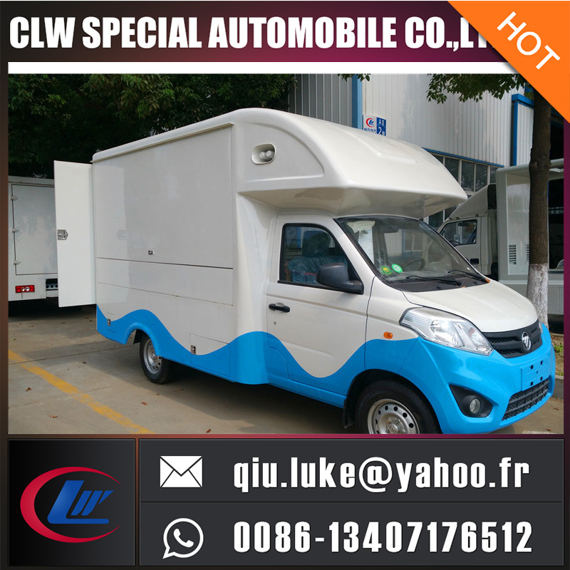 mini food truck, mobile food truck, ice cream truck for sale