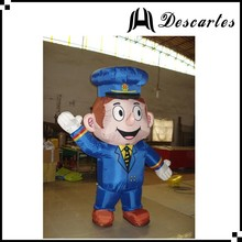 Lifelike Australia 1.8m Tall Inflatable Postman Mascot Costume For sale