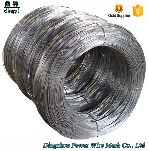 Promotional 2017 hot sale low carbon iron Q195 zinc steel wire 3mm soft annealed galvnaized iron wire with low price and good qu