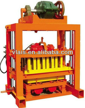QTJ4-40B Concrete Block Forming Machine, brick manufacturing machine