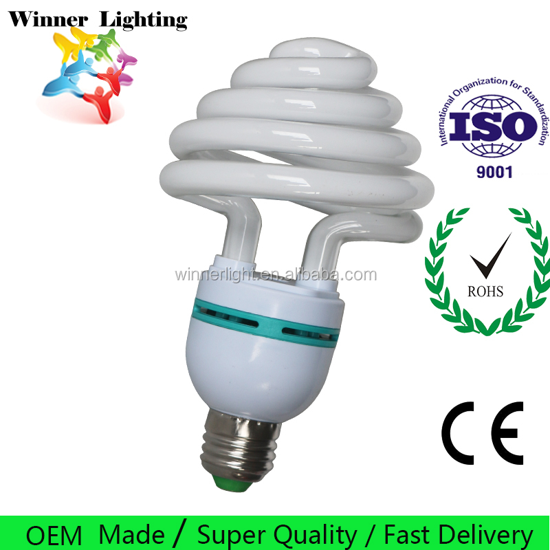 Umbrella Shape Compact Fluorescent Lamp CFL Bulb Energy Saving 25w 30w 45w 65w Lighting