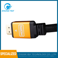 2017 china supplier HDMI Cable for iPad with Ethernet 1.4 Version support 1080p 3D