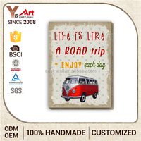 Top Class Promotional Price Tin Signs For Sale Fashionable Design Car Image