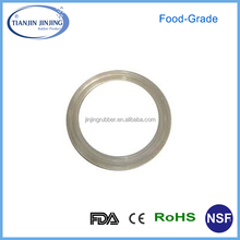 OEM & ODM food-grade silicone rubber seal gasket/food-grade silicone rubber gasket/