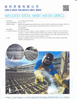 WELDED STEEL WIRE MESH (BRC)