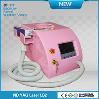 Multifunction nd yag pigment/ freckles/tattoo removal nd yag laser machine