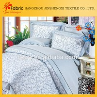 Bed cover cheap shrink-resistant 100% polyester fabric textile