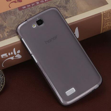 2017 TPU matte Ultra-thin mobile phone case back cover for huawei honor 3c