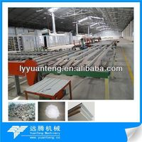 gas fuel gypsum board production line