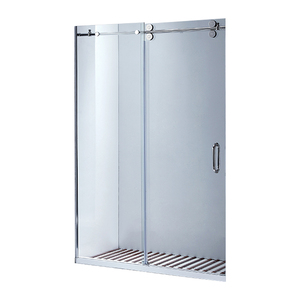 made in china bathroom design frameless shower glass door