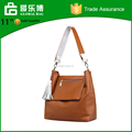 Meifeng Bucket bag Exquisite tassels genuine leather hand bag