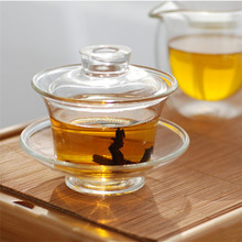 Borosilicate Chinese Tea <strong>Cups</strong> & Saucers With Lid
