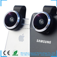 external camera for android phone universal clip HD super 235 fisheye for smartphones