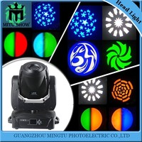 Led 150w gobo pattern china moving head lighting spot lights for concerts