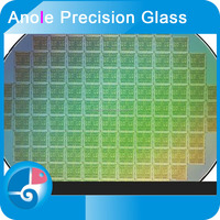 Anole clear high transmittance micro electronic system two-side lapping ultra small collapse borosilicate Glass wafer