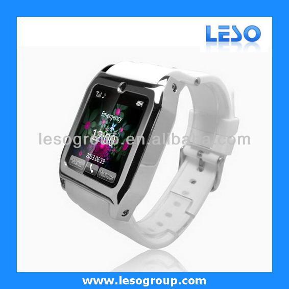 2014 cheap hand watch phone for iphone 6 plus bluetooth 1.54 inch mobile phone TW530 used mobile phones