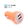2 port usb car charger 12v/24v for iPhone 4s 5s 6 6 plus portable USB car charger