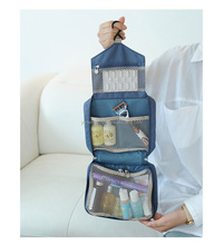 Travel cosmetic makeup bag hanging toiletry bag folding organizer bag