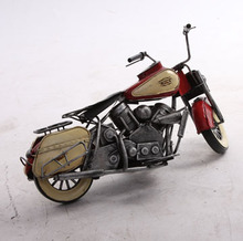 Home Decorative Vintage Motorcycle Model
