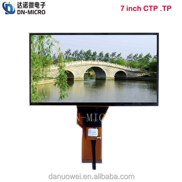 Good Quality 7 inch lcd capacitive touch screen 1024*600 for tablet PC