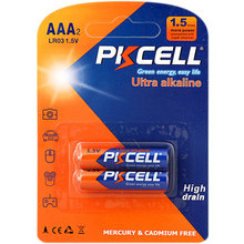 Wholesale Cheap Price PKCELL Brand 1.5v aaa lr03 am4 Alkaline Battery Pencil Dry Cell Battery