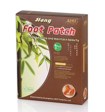 Jinyi 10 Patches Gold Cleanning Detox Foot Plaster Remove Body Toxins Weight Loss/Slimming
