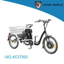 2018 hot electric pedicab for passengers tri-cycle e trike