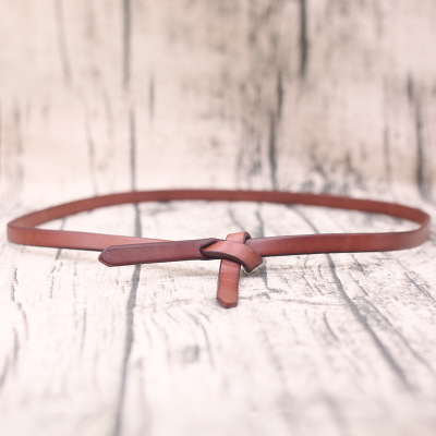 Factory handmade Genuine Leather women Belt Quality Simple design