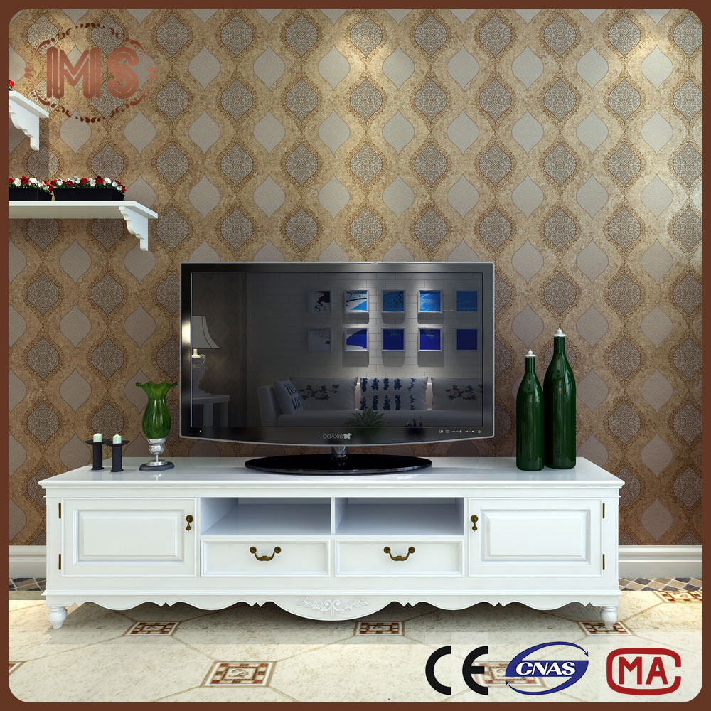 MSYD wallpaper looks luxury non woven wallpaper with high quality and lower price
