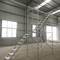 Steel Step Ladder Scaffolding frame System