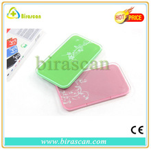 Newest colorful design ultra-thin mini digital body weighing scales