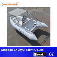 CE certificate and 4.7m rigid hull inflatable rib boat for sale