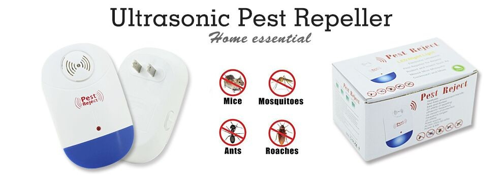 2017 OEM Electronic Ultrasonic Pest Repeller with LED Light