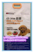 Tenuta PET Dog Food Packaging Sacchetto di Plastica con manico