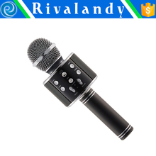 Portable karaoke wireless microphone Bluetooth mobile phone karaoke microphone Bluetooth handheld microphone