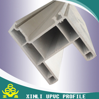 chinese factory supply 80 sliding series of UPVC profiles from xinli plastics CO.LTP
