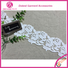 Fashion Embroidery Cotton/Polyester Lingerie Elastic Nylon Lace Trim