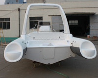 Silver Marine inflatable RIB fiberglass sports fishing boat (PVC & HYPALON) best boat manufacturer,export supplier