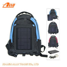 Wholesell waterproof solar backpack solar panel backpack