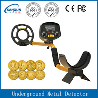 Electronic gold detector diamond and silver