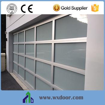 Sectional Glass Garage Door Of Aluminum Commerical Frosted Glass Sectional Garage Doors