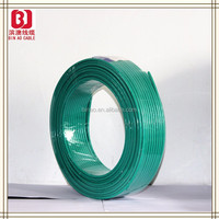 PVC insulation material non-sheathed single-core 450V/750V electrical wire roll,electrical wire flat cable