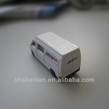 1:87 Diecast metal mini toy van