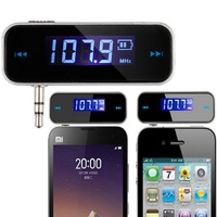 Hands-free talking For Mobile IPHONE 5 6 IPOD SAMSUNG HTC LG Car Wireless MP3 FM Radio Transmitter