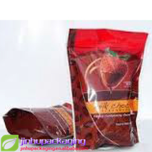 four side seal bag recycled brown paper bag coffee packaging film roll