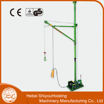 With high quality Indoor lifting machine wire rope crane