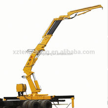 manufacturer sale 10ton truck with lifting arm small hydraulic crane 10 ton knuckle boom truck mounted crane