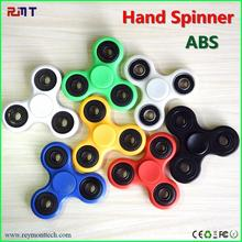AWH102 Hot sell gift promotion hand spinner for autism and ADHD twiddle spinner mini toy ABS fidget spinner
