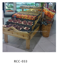 supermarket fruit and vegetable display rack, fruit vegetable display stand <strong>shelves</strong>