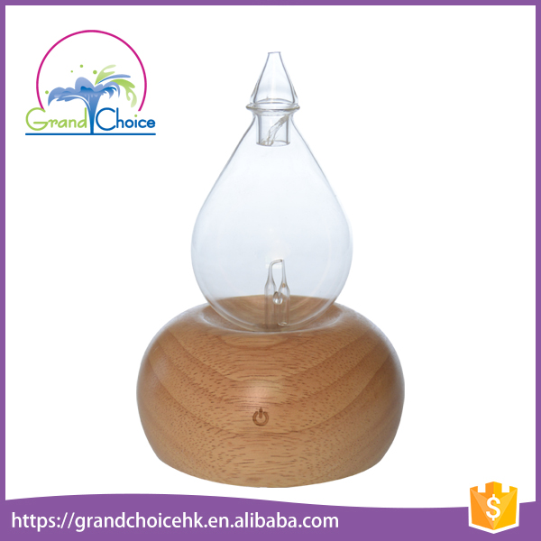 Home use glass essential oil aroma reed diffuser